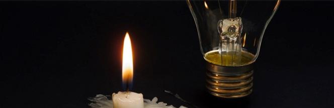 社会主义者在使用蜡烛之前使用什么照明?
