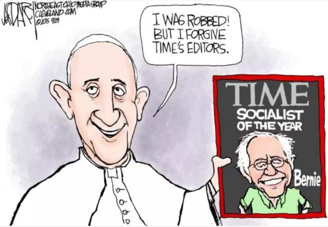 教宗方济各误解了自由市场
